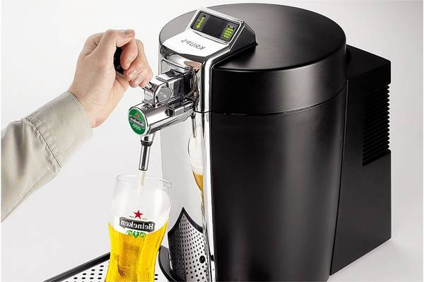 Tube tireuse a biere